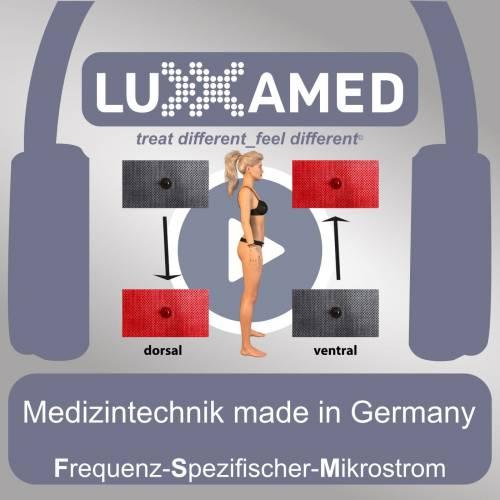 Mikrostromtherapie Klebeelektrodenanlagen