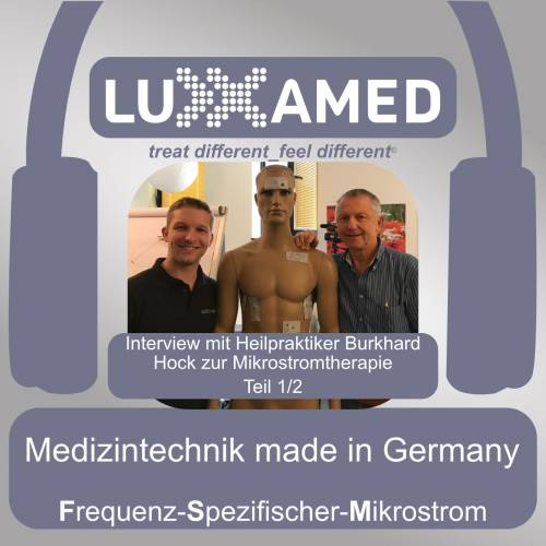 Heilpraktiker Burkhard Hock über die Mikrostromtherapie Teil 1/2