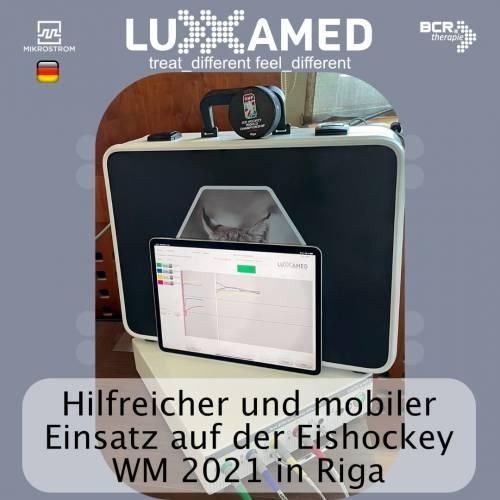 Eishockey-Weltmeisterschaft 2021 mit Luxxamed