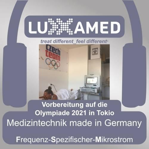 Luxxamed Mikrostrom Olympiade 2021 Tokio