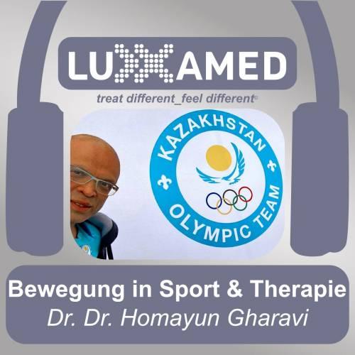 Bewegung und Therapie Podcastinterview Dr. Dr. Gharavi