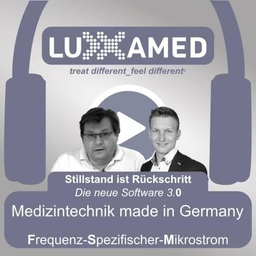 Stillstand ist Rueckschritt – Luxxamed Mikrostrom Podcast